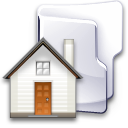 Filesystem-folder-home-2-icon